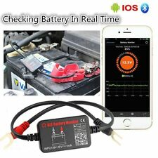 Auto Car 12V Battery Tester Analyzer with Bluetooth 4.0 in Real Time Monitoring