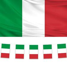 Italy 1 Flag & 2 Bunting Pack Italian Europe Football Europe Country Banner