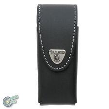 05620 4.0833.L VICTORINOX Leather Sheath Swiss Army Knife Pouch Case Belt