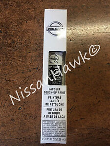 """OEM Nissan Touch-Up Paint + Clear Coat """"GALAXY BLACK"""" Color Code G10"""