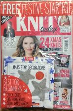 Knit Today UK Issue 119 Xmas Star Decorations Best For Beginner FREE SHIPPING sb