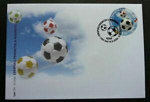 [SJ] Croatia European Football Championship 2008 Soccer Sport Games (FDC) *odd
