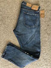 POLO Ralph Lauren The Sullivan Slim Fit Jeans Paint Splatter 34 x 30  $168.00