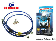 Goodridge Yamaha XJ900S Diversion 94-96 Avant Tressé Frein lignes bleu Zinc vente