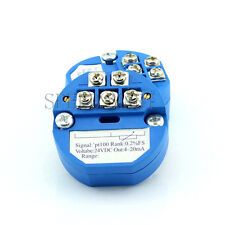 0-600 Celsius 4-20MA RTD PT100 SBW Temperature Transmitter