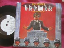 Mel Brooks To Be Or Not To Be (The Hitler Rap) Pts. 1&2 ‎UK 7inch Vinyl Single