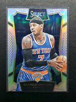 2015-16 Select Carmelo Anthony Silver Concourse Prizm, New York Knicks
