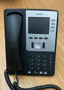 Snom 821 IP Phone (POE working) FREE UPS DELIVERY!