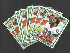 1980 TOPPS REUBEN GANT #59 LOT OF 8 CARDS BUFFALO BILLS