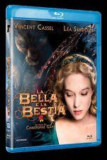 LA BELLA E LA BESTIA  BLU RAY   BLUE-RAY FANTASTICO