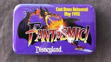 Disney Pin 13217 USED 1992 Fantasmic Cast Dress Rehearsal Button