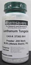 Lanthanum Tungstate Powder 200 Mesh 999 Metals Basis 100g