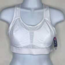 Champion 34D Sports Bra 1346 White Ultra Light Max High-Impact