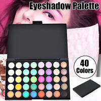 Eyeshadow Palette Makeup 40 Color Cream Eye Shadow Matte Shimmer Cosmetic Set