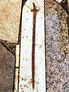 Antique Viking age Pre Ottoman Turkish sword More then 1000 years old Scimitar