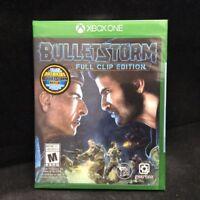Bulletstorm: Full Clip Edition (Microsoft Xbox One, 2017) BRAND NEW/ Region Free