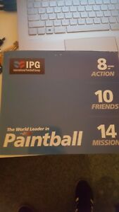 Ipg paintball tickets x 20 + 1000 FREE PAINTBALLS