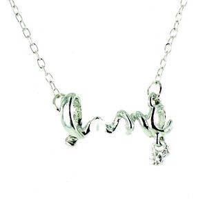 ilovefj Love Script Necklace MORE COLOURS AVAILABLE