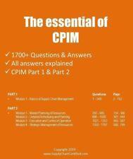 1800+ Practice Questions for APICS CPIM exam