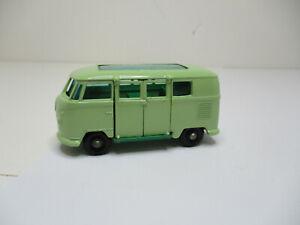 Lesney Matchbox #34B2 Volkswagen CaraVan BLACK PLASTIC WHEELS.NEAR MINT ORIGINAL