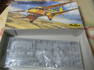 DH 89 Dragon Rapide  HELLER  80345    1/72nd