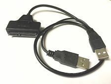 "2.5"" USB 2.0 to SATA Cable Serial ATA Adapter For HDD/SSD Laptop PC Hard Drive"