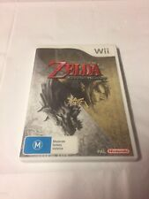 The Legend of Zelda Twilight Princess Wii Game PAL