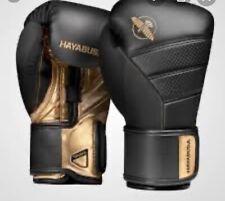 Hayabusa T3 Black And Gold 14oz Boxing Gloves