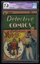 Detective Comics (1937) #38 CGC FN/VF 7.0 (Restored) 1st Print 1st Robin!
