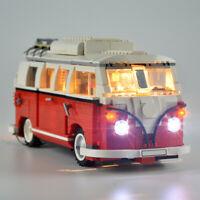 LED Light Lighting For LEGO 10220 Advanced Models VW T1 Camper Van Bricks Toy