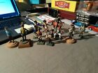 """LOT OF 13 PAINTED LEAD SOLDIERS 2.5"""" 1-RIDING HORSE , 3-ON BASES + 10  ASSORTED"""