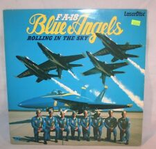 Laserdisc {G} * Rolling in the Sky: F/A-18 Blue Angels * Rare CAV Standard Play