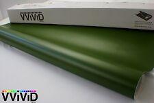 Matte Lime Green Vinyl Wrap for Car Bike Boat 5ft x 12.5ft Air Release MLG5M