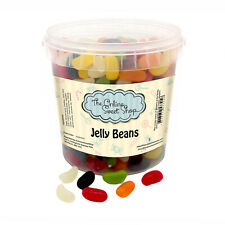 theOnlineSweetShop Jelly Beans Party Sweet Bucket Sweets Halal Gummy Candy Gift