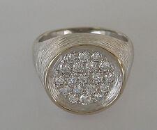wow Nice☻Brillant Ring in aus 750 Weiß Gold 8,5 gr. mit 0,70 ct. Diamant Diamond