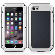 Waterproof Gorilla Glass Aluminum Metal Shockproof Case Cover For iPhone Samsung