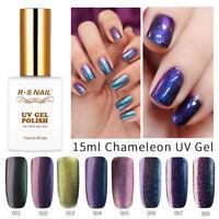RS Nail Chameleon UV Gel Nail Polish Soak Off LED Manicure Varnish 0.5oze New