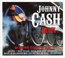 JOHNNY CASH - REBEL- 60 ORIGINAL CLASSICS (NEW SEALED 3CD)