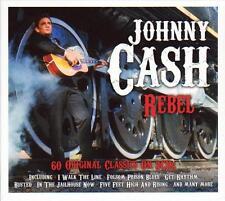 JOHNNY CASH - REBEL- 60 ORIGINAL CLASSICS (NEW SEALED 3CD)