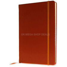 Silvine Executive Soft Feel Notebook with Strap Ruled Ivory Paper A6 A5 A4