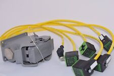 NEW HARTING HAN 10-E 10 pin Connector MURR Solenoid Valve Plug w/cable