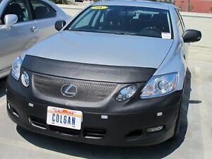 Colgan Front End Mask Bra 2pc.Fits Lexus GS350,GS450h 08-11 W/License & Sensors