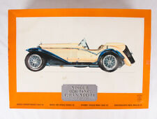 Pocher Highly Detailed 1/8 1932 Alfa Romero Touring Gran Sport, Unassembled