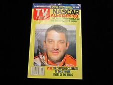 TONY STEWART 3D Motion TV GUIDE Magazine SPECIAL EFFECTS Cover 2003 HOME DEPOT