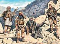 US Special Forces with Taliban Prisoner Present day 1/35 Master Box 35163 DE