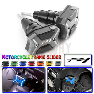 Motorcycle CNC Frame Slider Crash Protector For YAMAHA FZ1 FAZER 2006-2014 2012