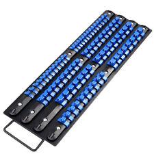 80 Socket Storage Industrail ABS Mountable Rail Rack Holder Organizer 1/4 3/81/2