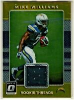 2017 Donruss Optic Football Rookie Threads Jersey - Mike Williams RC - Chargers