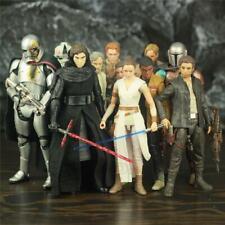 "Star Wars 6"" Kylo Ren Luke Leia C-3po Darth Jaina Grand Rex Action Figure Toys"