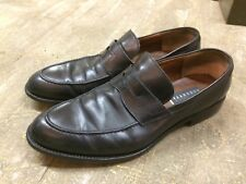 FRATELLI ROSSETTI ITALY loafers slip on black leather dress mens shoes sz 10.5 ?